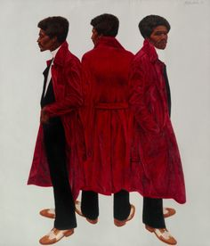 Barkley L. Hendricks Sir Charles, Alias Willie Harris, 1972 oil on canvas 84 ⅛ x 72 inches African American Artist, American Artists, Museum Exhibition, Art Museum, Kehinde Wiley, Modern Portraits, Digital Museum, National Gallery Of Art, Art Object