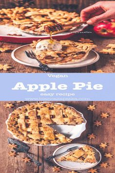 #Pies #easy #apple Vegan Apple Pie easy recipe pies pies recipes dekorieren rezeptebrp classfirstletterHelloWelcome to our websiteScroll down for more vegan effective TopicpHere we offer the max wonderfully impression about torten that you are looking forBy examining the apple part of the Pictures you can get the massage we want to offer You can see that this photograph is acclaimed by everyone and the quality observed in the quantity of 226 By following our Pinterest account you will see… Pecan Bars, Mini Desserts, Vegan Desserts, Vegan Recipes, Apple Desserts, Vegan Pie Crust, Dessert Halloween, Homemade Apple Pie Filling, Homemade Pie Crusts