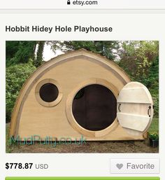 "I found my perfect ""Mama/Lady Cave"" for the backyard. I will equip it with AC, a twin mattress, a fridge, pest control and a lock :)"
