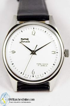 HMTWatchesOnline.com - HMT Janata White dial Arabic numbers