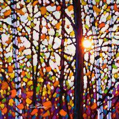 Tim Packer - Morning Birches