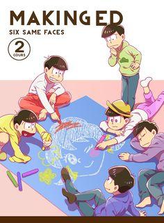 おそ松さん Osomatsu-san SIX SAME FACES making