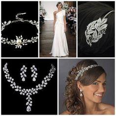 Grecian Accessories www.vintagebridaljewellery.co.uk Grecian Wedding, Wedding Accessories, Future, Earrings, Vintage, Jewelry, Fashion, Ear Rings, Moda