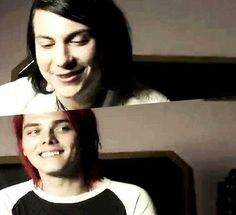 Frank Iero and Gerard Way