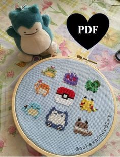 Great Snap Shots Cross Stitch pokemon Tips Because I am crossstitching stitching since I became someone My partner and i often presume that anyone alrea Cross Stitch Family, Mini Cross Stitch, Beaded Cross Stitch, Crochet Cross, Diy Embroidery, Cross Stitch Embroidery, Cross Stitch Designs, Cross Stitch Patterns, Pokemon Cross Stitch