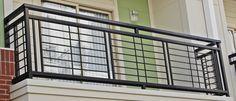 A nice and simplistic iron balcony. Each balcony railing is made with nothing less than high quality material. www.irondesignstudio.com?utm_content=buffer91de6&utm_medium=social&utm_source=pinterest.com&utm_campaign=buffer #iron #balcony