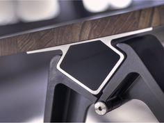Rectangular solid wood table GRIP WOOD Grip Collection by Randers Radius | design Troels Grum-Schwensen