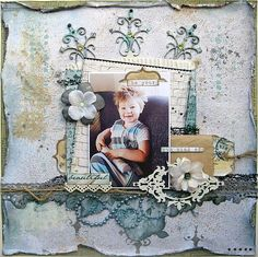 Swirlydoos Scrapbook Kit Club: Paulien's DT projects using our May Collection