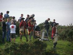 BTS, filming Voyager Season 3 Outlander of Ardsmuir Prison - September 2016