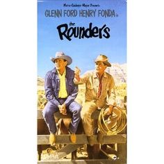 The Rounders is from the 1965 book by western author Max Evans. Film Books, Book Tv, Kathleen Freeman, Denver Pyle, Chill, Henry Fonda, Comedy Movies, Stunts, Movies And Tv Shows