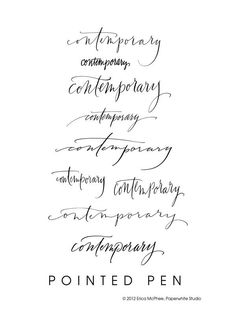 contemporary calligraphy font | calligraphy fonts