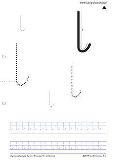 Duże, małe, wiersz | Kaligrafia, nauka pisania dla dzieci, szablony do nauki pisania liter do wydruku, szlaczki, sudoku, rysowanie, nauka liczenia