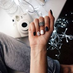 Ideas for nails simple design elegant Get Nails, Hair And Nails, Uñas Fashion, Nails 2018, Cool Nail Designs, Holiday Nails, Trendy Nails, Spring Nails, Manicure And Pedicure