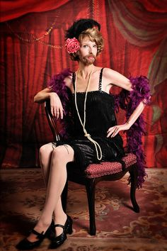 bearded lady costume | #halloween #freakshow- Don't know if I'm brave enough!