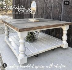 Coffee table farmhouse - Monastery Chunky Maple Farmhouse Bench Legs Set of 4 Unfinished Maple 3 5 x 3 5 x 16 ~ Made – Coffee table farmhouse Farmhouse Living Room Furniture, Farmhouse Bench, Rustic Farmhouse, Country Furniture, Farmhouse Style Coffee Table, Shabby Chic Coffee Table, Modern Furniture, Furniture Projects, Antique Furniture