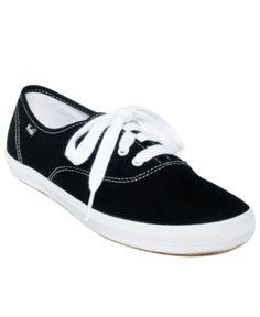 e06acb94f5a Keds Women s Champion Oxford Sneakers - Black 5.5M Bb Shoes