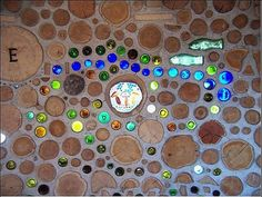 because cordwood walls are beautiful, that's why.