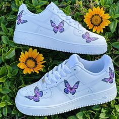 Each individual pair is handcrafted to order Not painted Brand new with Box Final Sale. Non refundable/ No Exchanges. Turn around time weeks + Shipping Time (subject to change without notice… Nike Air Force One, Nike Shoes Air Force, Cute Nike Shoes, Cute Nikes, Cute Teen Shoes, Jordan Shoes Girls, Girls Shoes, Shoes For Teens, Souliers Nike