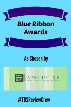 My Blue Ribbon Winners from the Homeschool Review Crew Products.   #TOSReviewCrew http://anetintimeschooling.weebly.com/a-net-in-time-blog/blue-ribbon-winners-2016-homeschool-review-crew