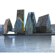 Krøyers Plads Copenhagen, Denmark by Erick van Egeraat Architects Contemporary Architecture, Landscape Architecture, Interior Architecture, Interior And Exterior, Amazing Buildings, City Buildings, Modern Buildings, Photos Voyages, Built Environment