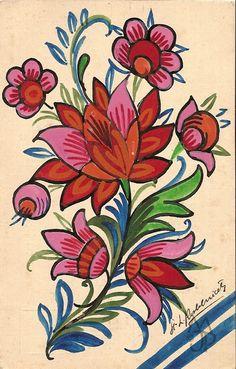 Pohľadnice Milana a Jána Pánského: Štefan Leonard Kostelníček Crewel Embroidery, Flower Embroidery, Diy Canvas Art, Stencil Diy, Art Floral, African Art, Adult Coloring, Needlework, Sewing Projects