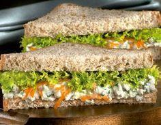 Receita de sanduíche natural