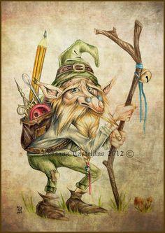 Rupert - Gnome by Rossana Castellino