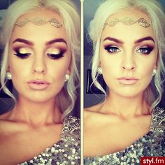 IN LOVE with her makeup.