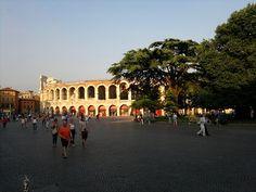 Roman Arena in Piazza Bra Verona
