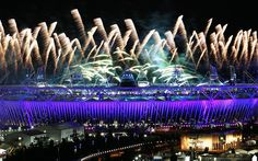 London 2012 Olympics: Fireworks - Telegraph
