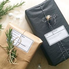little storage | étiquettes cadeaux (label love).
