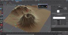 Autodesk Maya – Easy Terrain Creation Script   80lvl
