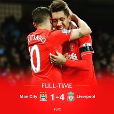 What a result for #LFC! #WeAreLiverpool