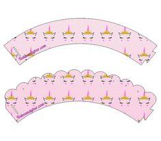 Candy Bar de Unicornios para Descargar e Imprimir Gratis | Todo Candy Bar Cupcakes, Bar, Free Printable, Birthday Invitations, Unicorns, Tags, Entryway, Hairdos, Cupcake Cakes