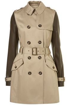 A trenchcoat for the barricade
