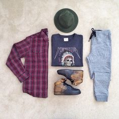 """Cozy @johnjunglee x @pacsun #outfitgrid @outfitgrid @dennistodisco 