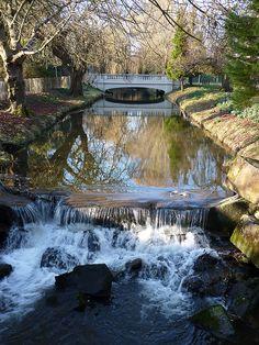 Roath Park, Cardiff, Wales, UK