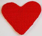 Crocheted Heart Motif