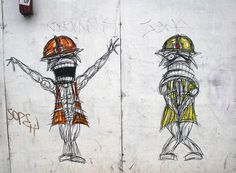 Construction worker street art by Nathan Bowen (photo by me, Dancinggecko on Flickr)