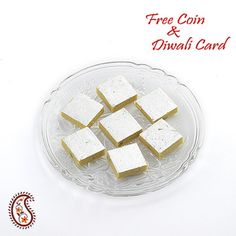 Kajoo Kesar Katli with Free Laxmi Ganesh Coin