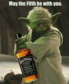 Latest Star Wars 8 updates reveal that Yoda may be seen in Episode VIII, while Rey's Force Visions may delve more into Luke Skywalker's back story. Bolo Jack Daniels, Jack Daniels Whiskey, Alcohol Memes, Alcohol Signs, Yoda Funny, Yoda Quotes, You Don't Know Jack, Uncle Jack, Whiskey Girl