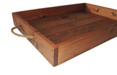Rustic Cedar Wood Serving Tray Early American by FreeStateCrates, $40.00