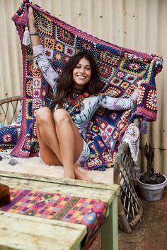 Carnaby Crochet Throw | Spell & The Gypsy Collective
