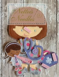 Doc Accessories: Doc Mini Doll and Accessory by NettiesNeedlesToo