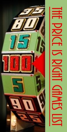 List of The Price is Right Pricing Games