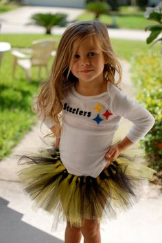 This would be my daughter!!!  I'm sure daddy would have to bribe her to change to that outfit so it was the Eagles!