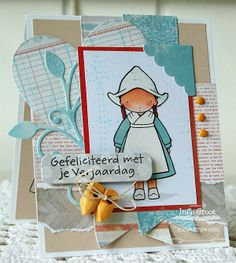 PI Around the World - The Netherlands, Hearts and Stitches, Heart STAX Die-namics, Leaf Filled Heart Die-namics - Inge Groot