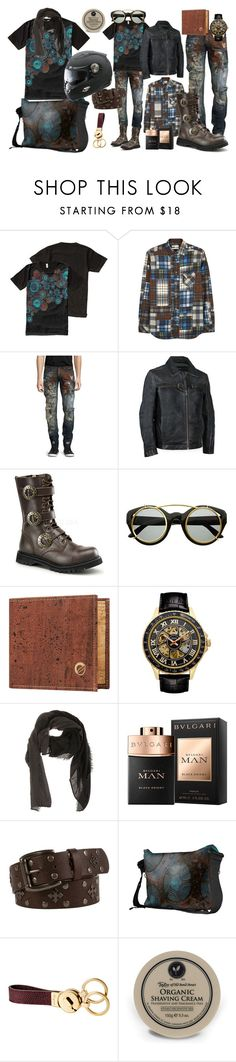 """Max Was Here"" by ubm-store ❤ liked on Polyvore featuring Diesel, PRPS, Andrew Marc, Demonia, Croton, Destin Surl, B Icon, Taylor of Old Bond Street, men's fashion and menswear"