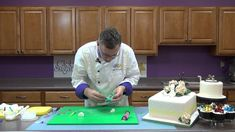 How to Make High Heel Sugar Shoes  In this video Chef Alan Tetreault, of Global Sugar Art, teaches how to cut and assemble high-heeled shoes using JEM's shoe cutter sets and Mexican Paste. Whether you want to embellish your soles with a fun Edible Image ® or keep them clean and classy, Chef Alan will show you the tricks to creating adorable large and miniture shoes, perfect to top any cake or cupcakes.
