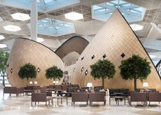 10 Spectacular Airport Lounges Around The Globe Impress With Their Unique…